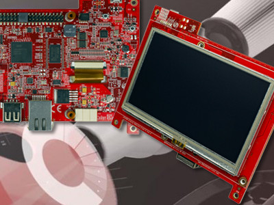 Touch screen automation circuit board